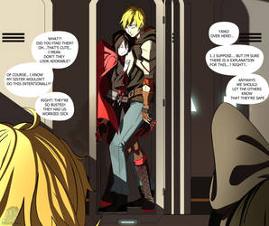 RWBY - Enclosed [Ruby X Jaune] by IzharDraws