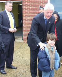 Bill Clinton Photo Op 1, 2008 by toksook