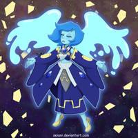 Gem-Knight Lady Lapis Lazuli by SeiAni