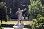 Arash the Archer in Saad Abad by makanparsi