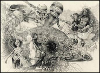 Abduction II by Davidjulianlopez