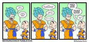 Fandumb #49: Super Saiyan God Super Saiyan God by Neodusk