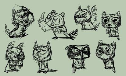 Owls by indigofox