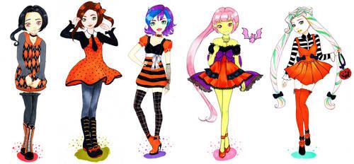 Casual Halloween LillaLou by nanako87