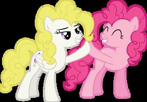 Surprise/Pinkie Brohoof by Jerick