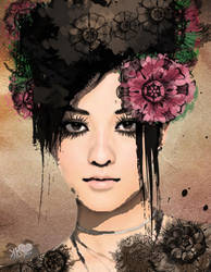 Victorian Girl by MixedMelody
