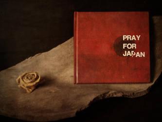 PRAY FOR JAPAN,the book by PansaSunavee