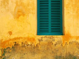 Green window by PansaSunavee