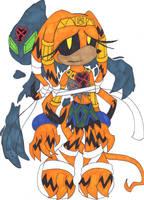.:Heartless Tikal and Chaos:. by TeaLadyC8LIN