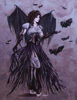 Bat Goddess in Colour by Shakoriel