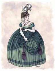 Viscountess Garvestone in Colour by Shakoriel