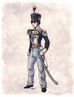 Captain Benjamin Shedfield in Colour by Shakoriel