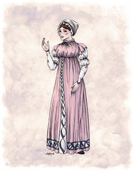 Lady Tabitha Newick in Colour by Shakoriel