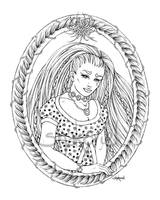 Rapunzel (lineart) by Shakoriel