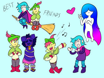 Wandersong Doodles by ManiakMonkey