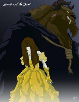 Twisted Princess: Belle by jeftoon01