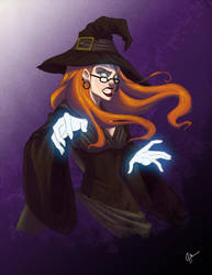 The Witch by jeftoon01