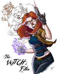 The Witch Files by jeftoon01