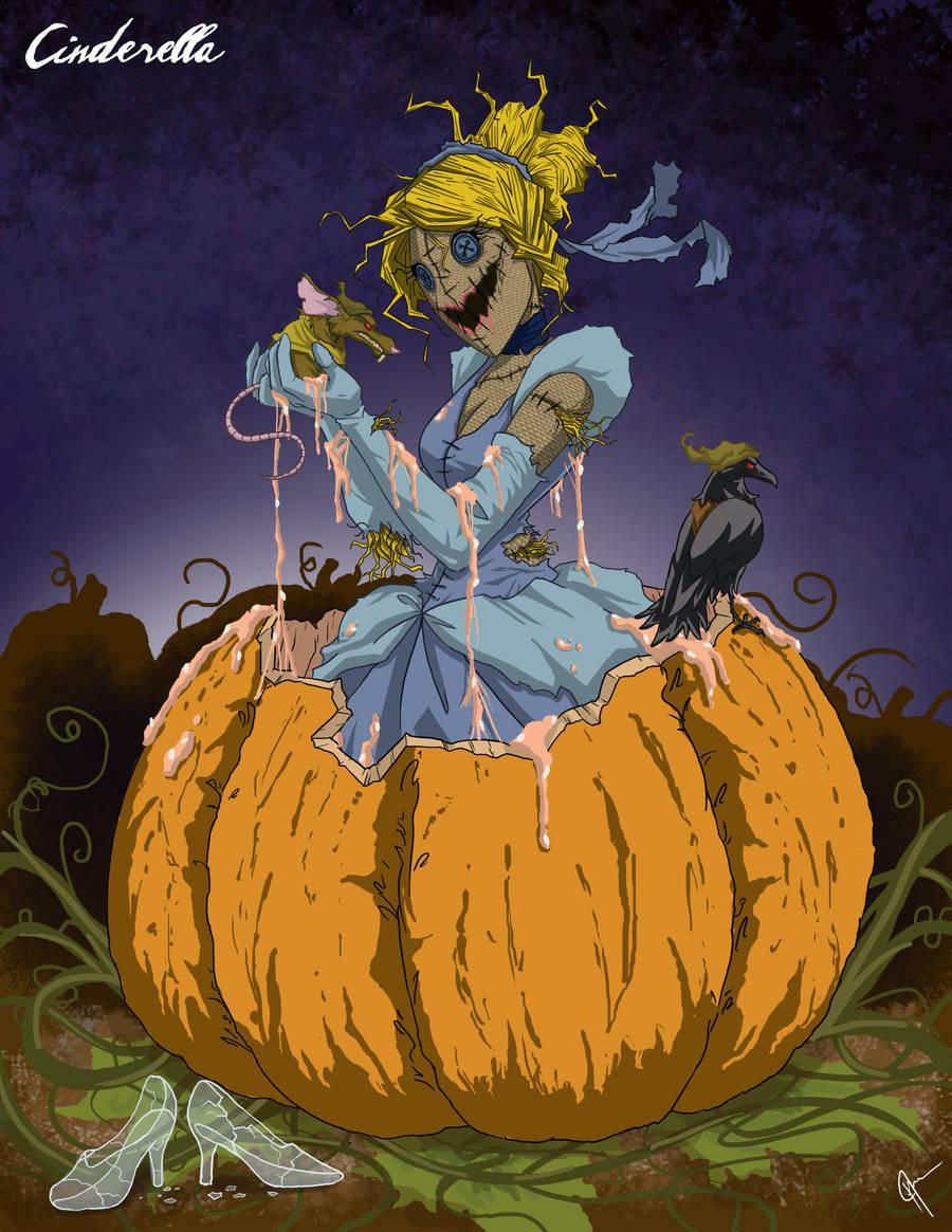 Twisted Princess: Cinderella by jeftoon01