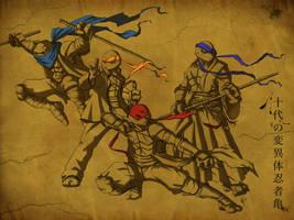TMNT: Feudal Era by jeftoon01