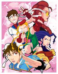 Street Fighter IV Ladies by jeftoon01