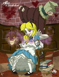 Twisted Princess: Alice by jeftoon01