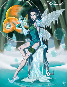 Twisted Fairies: Silvermist by jeftoon01