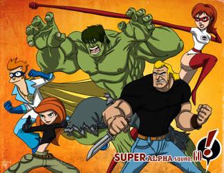 SUPER Alpha Squad, GO! by jeftoon01