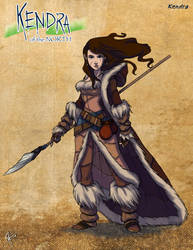 Kendra of the North by jeftoon01