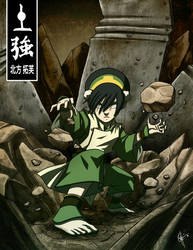 Toph Bei Fong: The Blind Bandit! by jeftoon01
