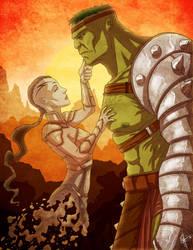 Planet Hulk: Tear of the Green Scar by jeftoon01