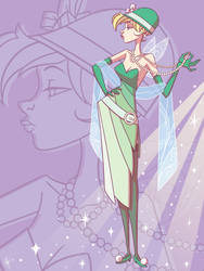 Art of Tinker Bell: Flapper Bell by jeftoon01