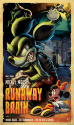 RUNAWAY BRAIN!!!!! by jeftoon01