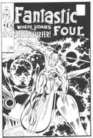 Fantastic Four 72 Recreation by Picturecar
