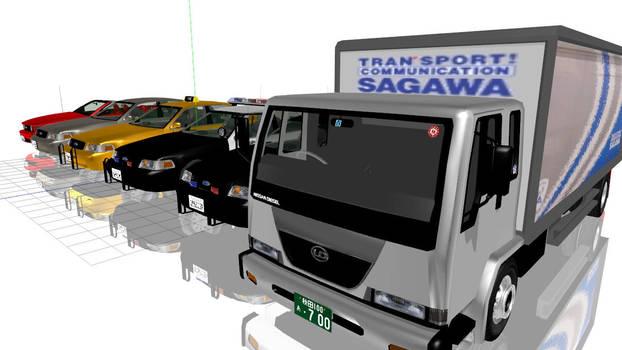 MMD Car by cargraP