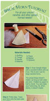 Unicorn and Narwhal Spiral Horn Tutorial by BeeZee-Art