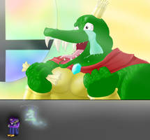 King K. Rool in Smash! by The-Gamer-Within