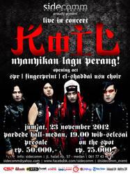 KOIL live in concert NYANYIKAN LAGU PERANG! by indesignesia