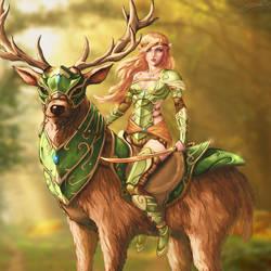 Elven Knight by ArtJake