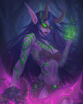 Night Elf Demon Hunter by ArtJake