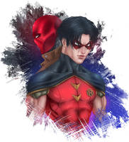 Jason Todd - First the Robin, then Red Hood. by ArtJake
