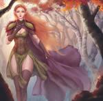 Dalish Elf Inquisitor by ArtJake