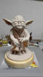 YODA Star Wars - WIP by barmararara