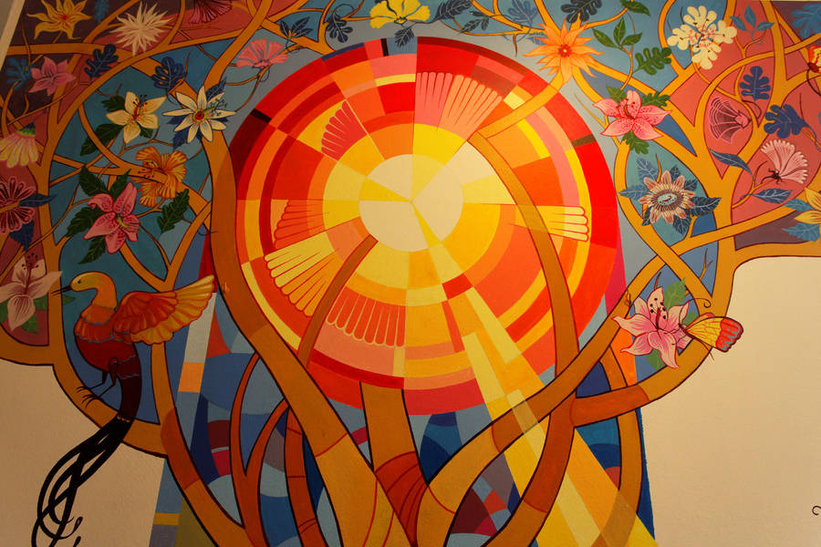 mural painting detail3 by NxN-a