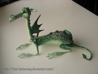 Swamp dragon by thai-binturong