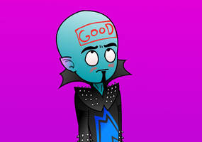 Megamind is Good by ToxicNeonSpaceMonkey