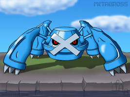 Metagross by fab-wpg