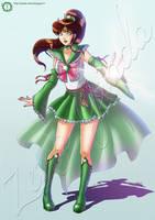 Sailor Jupiter Challenge by hisui1986