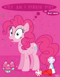 MLP: FiM - Why am I Pinkie Pie?! (Poster) by TheHylie