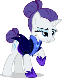 Rarity (Night Maid) #3 by TheHylie